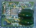 [ ADXL202-EB image on the PCB ]