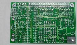 [ Top view of unpopulated board ]